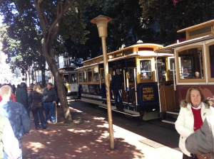 A cable car in real life! Mr. Rogers would be proud.