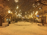 Lincoln Square in December 2